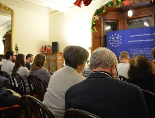 CONTENT: L'Association Parlementaire Européenne, comment faire parler d'Europe?
