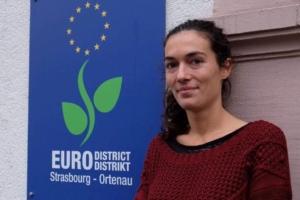 Lauréline Flaux, chargée de mission à l'Eurodistrict Strasbourg-Ortenau réfugiés jeunes